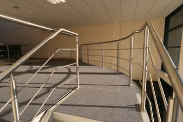 Curved Stainless Steel Balustrade